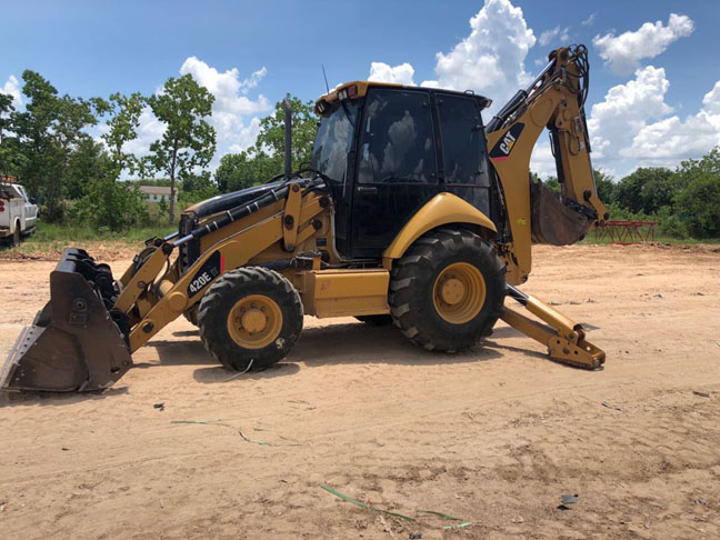 Cat 420E Backhoe Loader For Sale in Brookshire TX