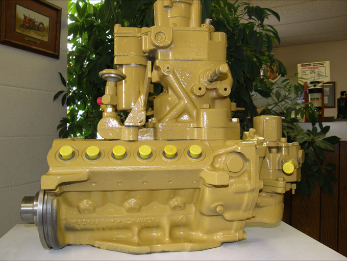 Mechanisms In A Caterpillar Fuel Pump System Used In Heavy